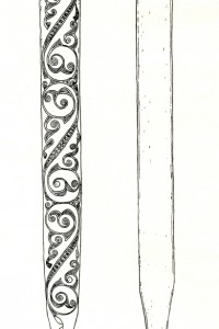 Plate-2-Bronze-Age-decorated-scabbard-from-Toome-Large