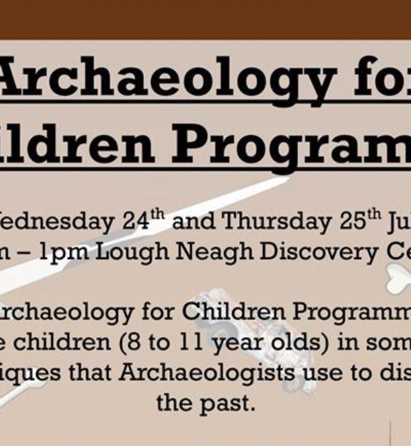 Archaeology for Children Programme