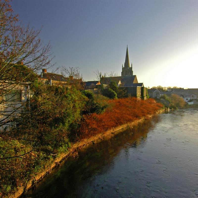 Walking Tour Of Antrim Town